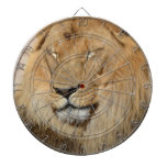 Adorable Lion Dartboard With Darts