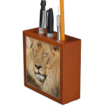 Adorable Lion Pencil Holder