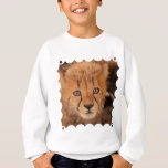 Baby Cheetah Children's Sweatshirt