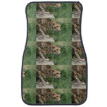 Beautiful Sleek Cheetah Cat Car Floor Mat