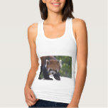 Prowling Red Panda Tank Top