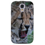 Sleepy Cheetah Cub Galaxy S4 Case