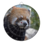 Sweet Red Panda Bear Dartboard With Darts