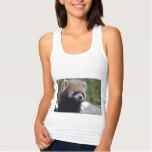 Sweet Red Panda Bear Tank Top