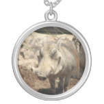 Warthog Sterling Silver Necklace